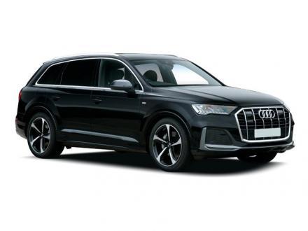 Audi Q7 Estate 55 TFSI e Quattro Black Edition 5dr Tiptronic